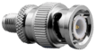 SMA-female to BNC-male connector