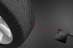 tire tread inspection using laser