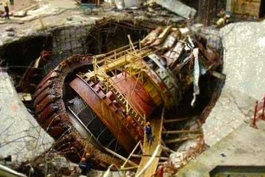 large motor generator