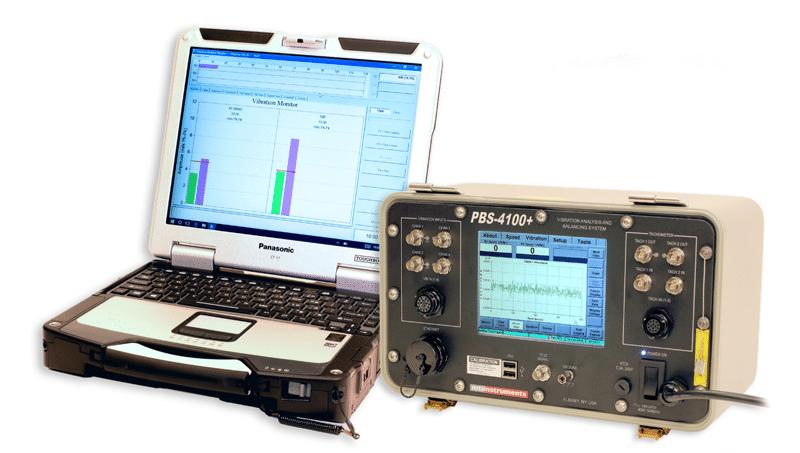Portable Vibration/Balancing System Simplifies Jet Engine Testing