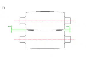 Image showing roller gaps