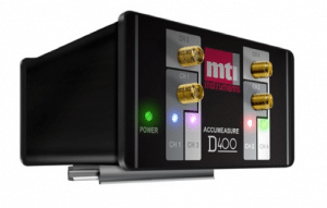 Accumeasure D Series Amplifier with up to four measurement channels