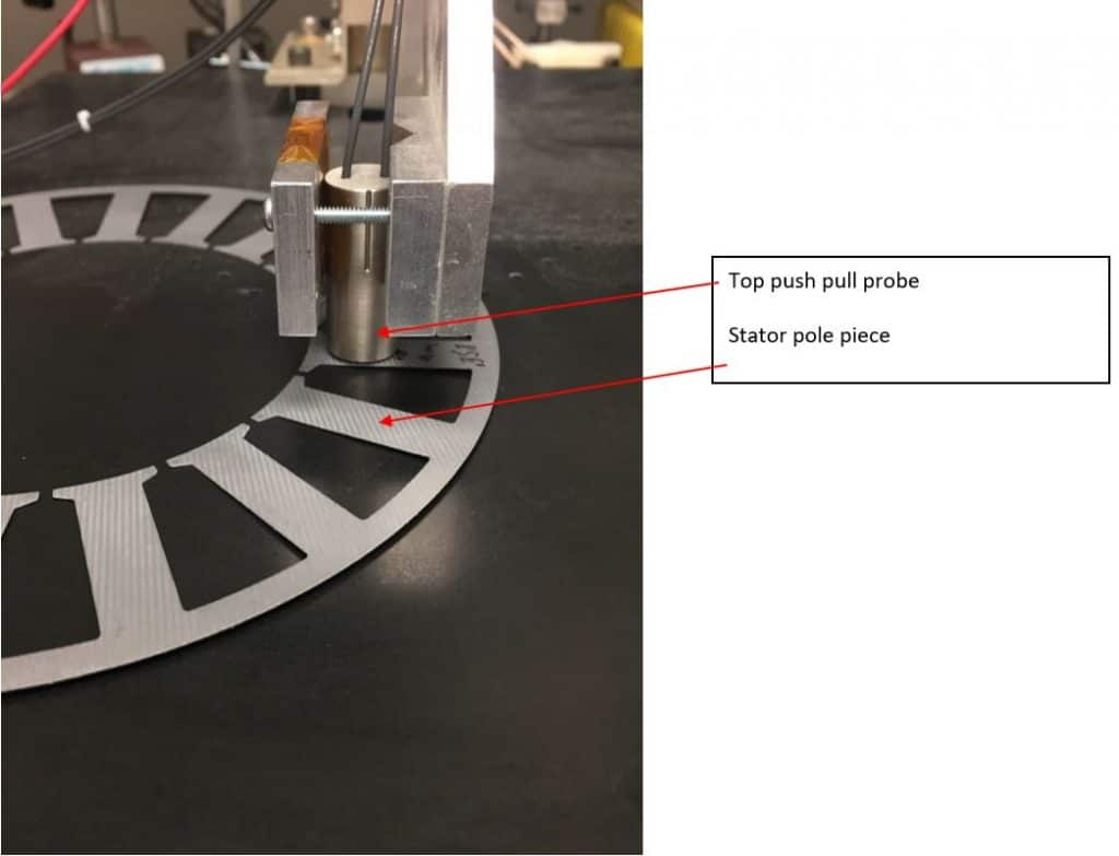 Figure 9 - Measure Stamped Sheet Metal Thickness