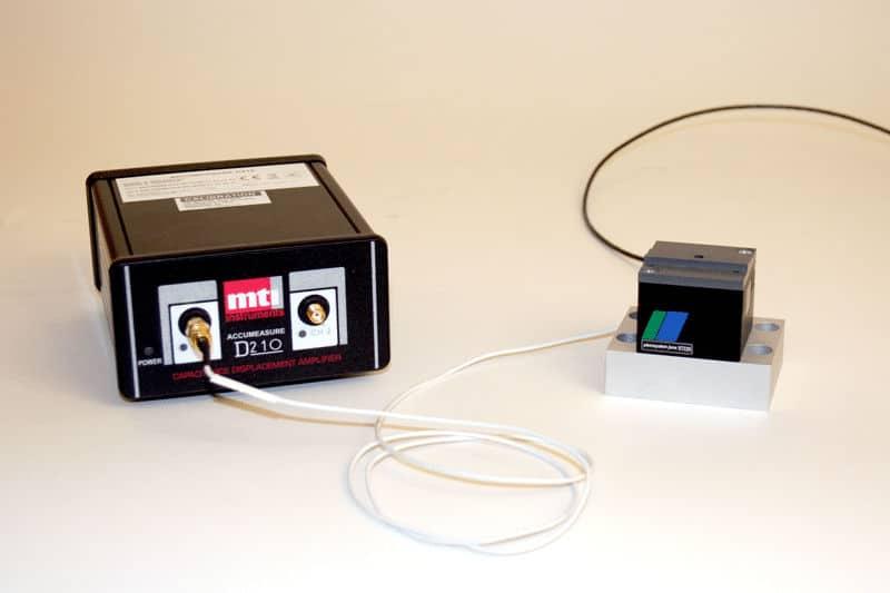 MTI digital capacitance amplifier