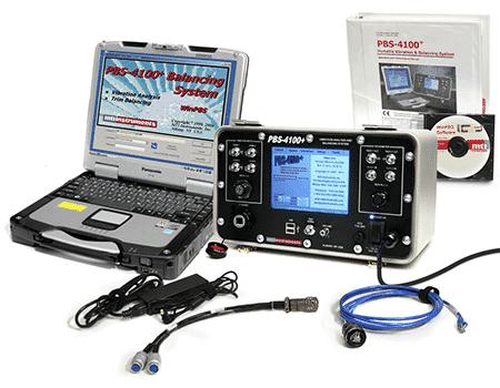 Portable Balancing System | PBS 4100+ Portable Vibration and Balancing System